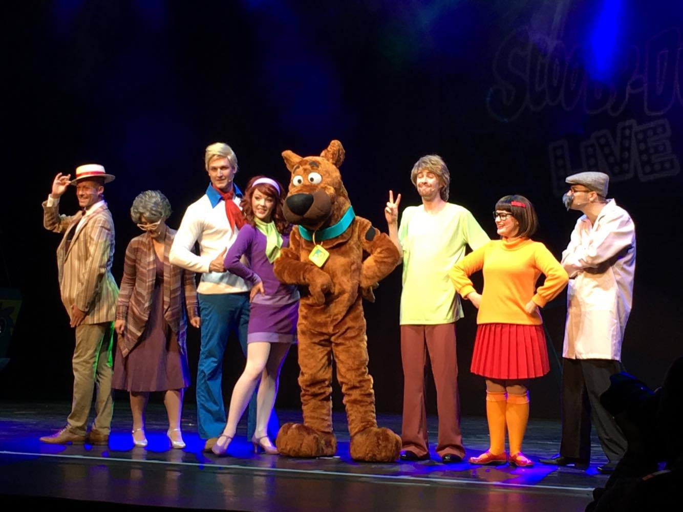 Review (Kid Plus One): Scooby Doo Live! Musical Mysteries ...