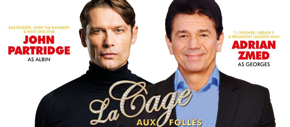 John Patridge and Adrian Zmed to star in La Cage Aux Folles Uk Tour