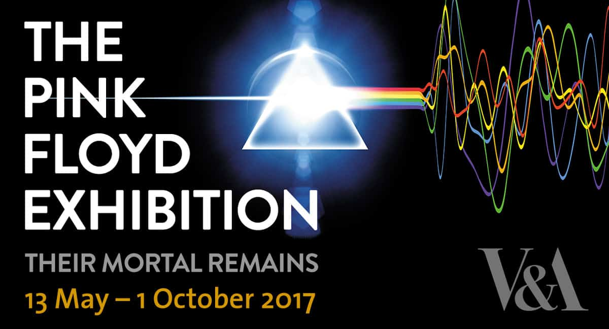 Pink floyd their mortal remains exhibition book now for Pink floyd exhibition
