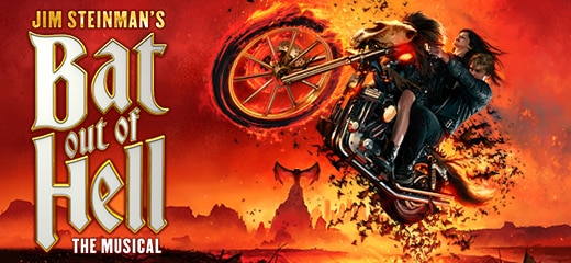 Book tickets for Bat Out Of Hell UK Tour and London Coliseum