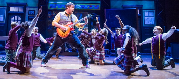 Book tickets for School Of Rock at the New London Theatre