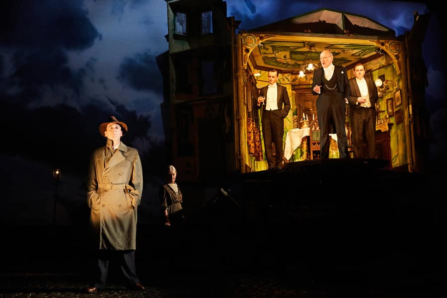 a review of jb priestlys play an inspector calls Home assignment sample  what is priestly's main aim in an inspector calls  of an inspector calls  an inspector calls is a well-made play   jb priestley.