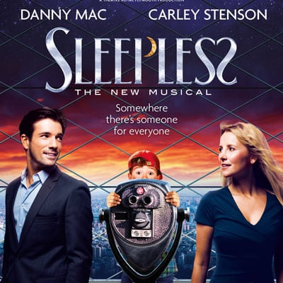 Book tickets for Sleepless the musical tour and West End