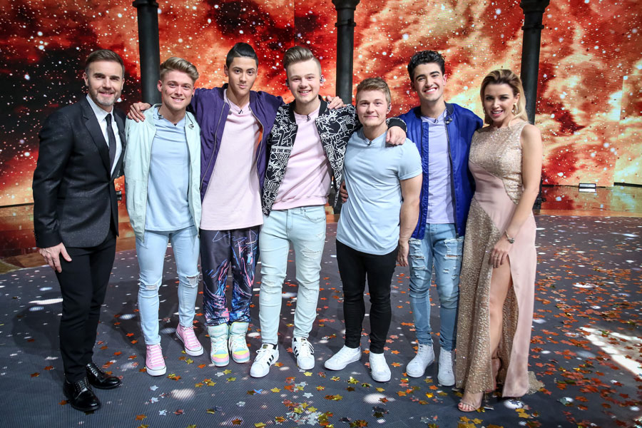 The winners of Let It Shine to feature in Gary Barlow's The Band