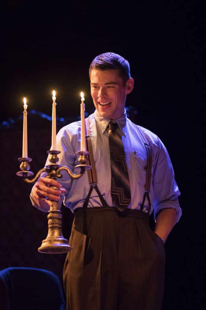 Brian J Smith in The Glass Menagerie