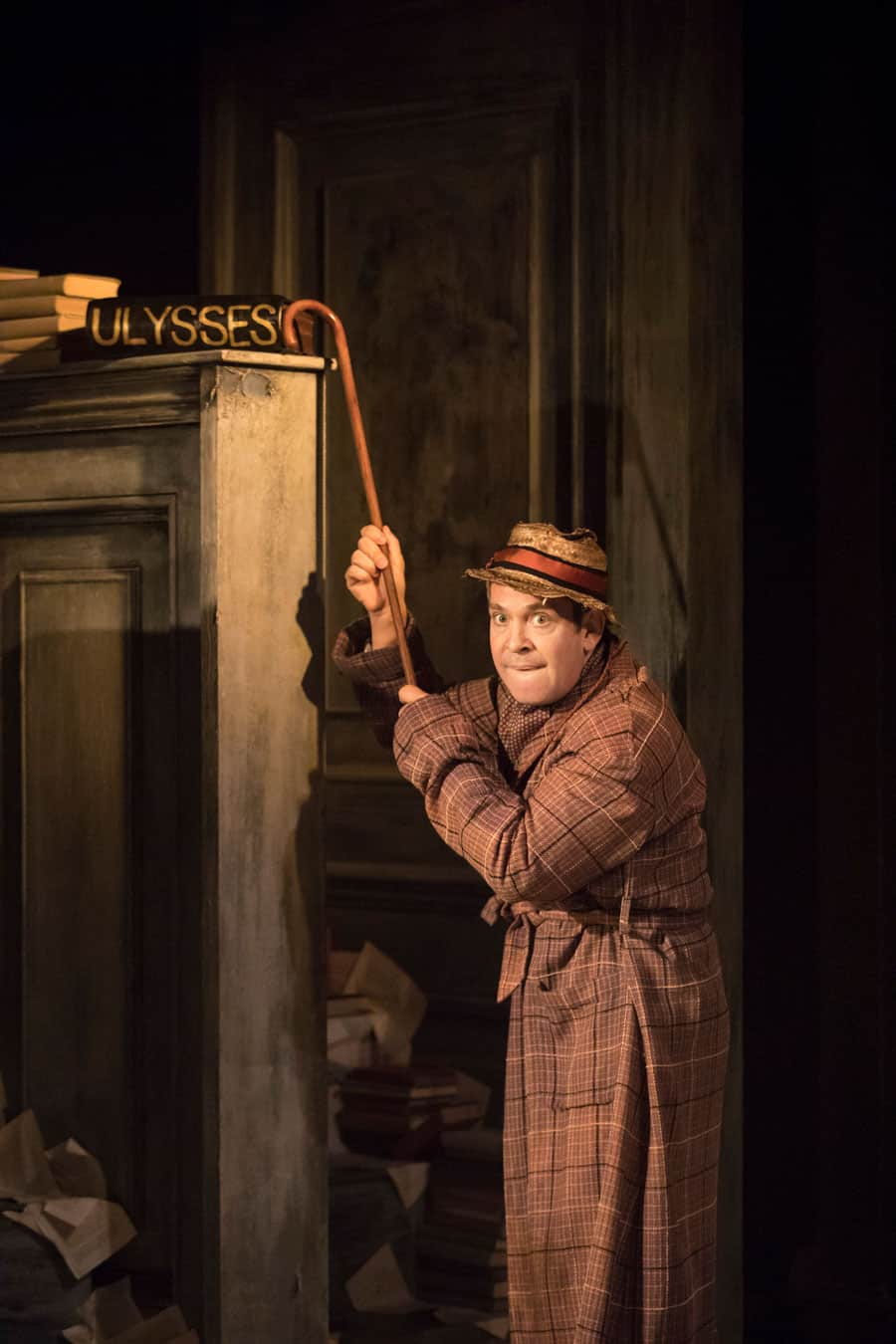 Tom Hollander as Henry Carr in Tom Stoppard's Travesties at the Apollo Theatre. Book Now!