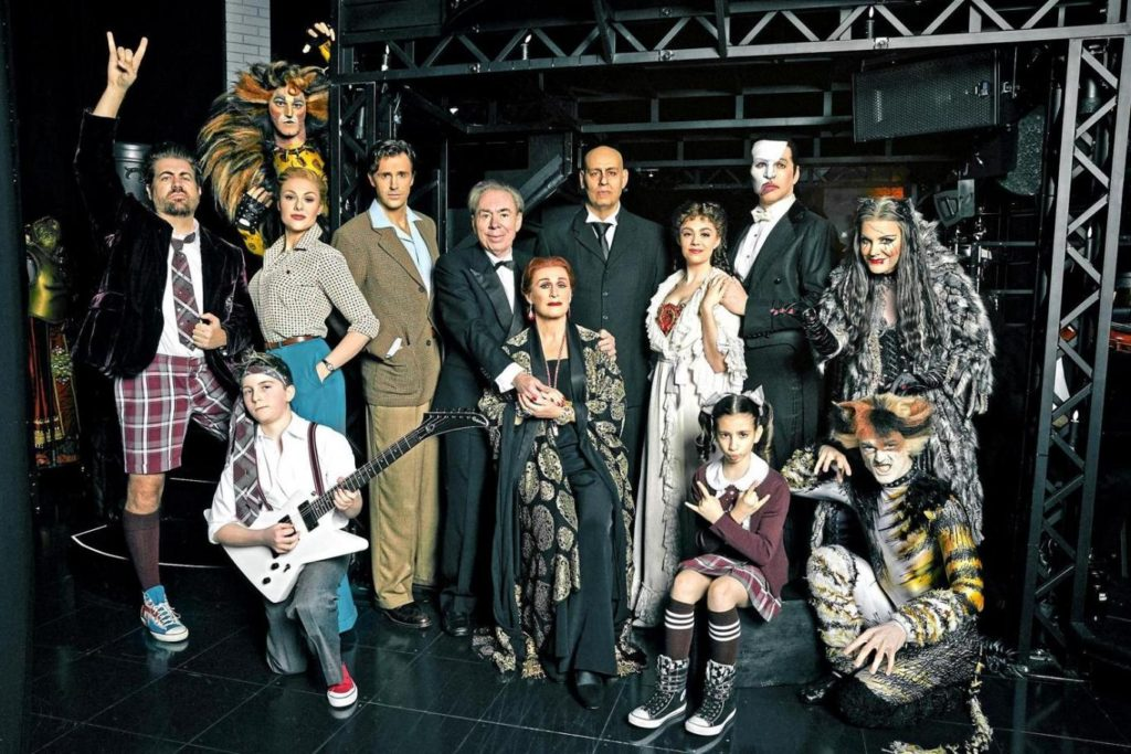 Andrew Lloyd Webber becomes first composer for 53 years to have 4 shows running concurrently on Broadway