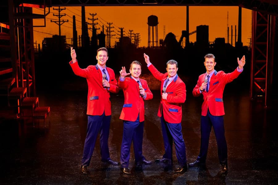 Jersey Boys UK Tour 2018 Cast