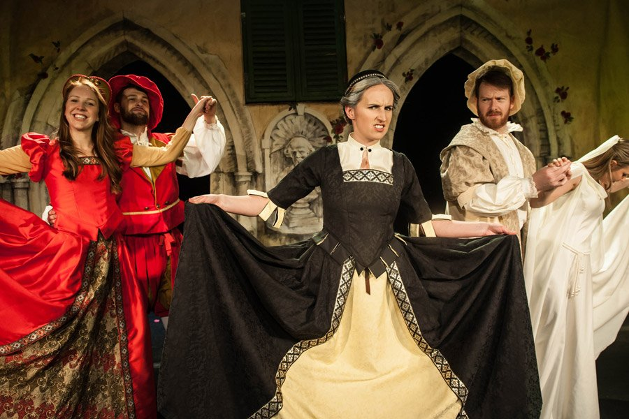 Book tickets to Shit Faced Shakespeare in London