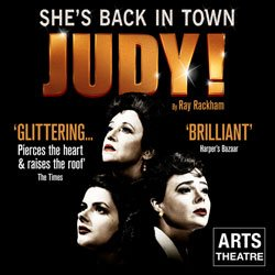 Book tickets for Judy! at the Arts Theatre