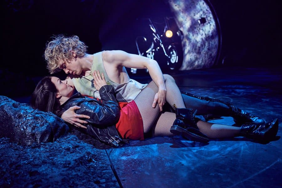 Andrew Polec and Christina Bennington in Bat Out Of Hell The Musical. Book Now!