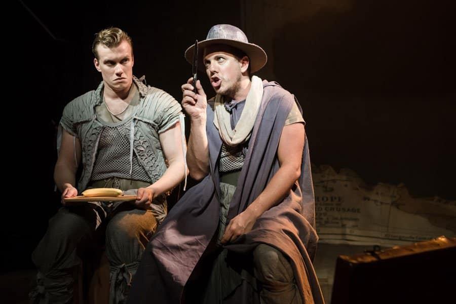 Michael Burgen stars as The Assassin in Blondel at the Union Theatre