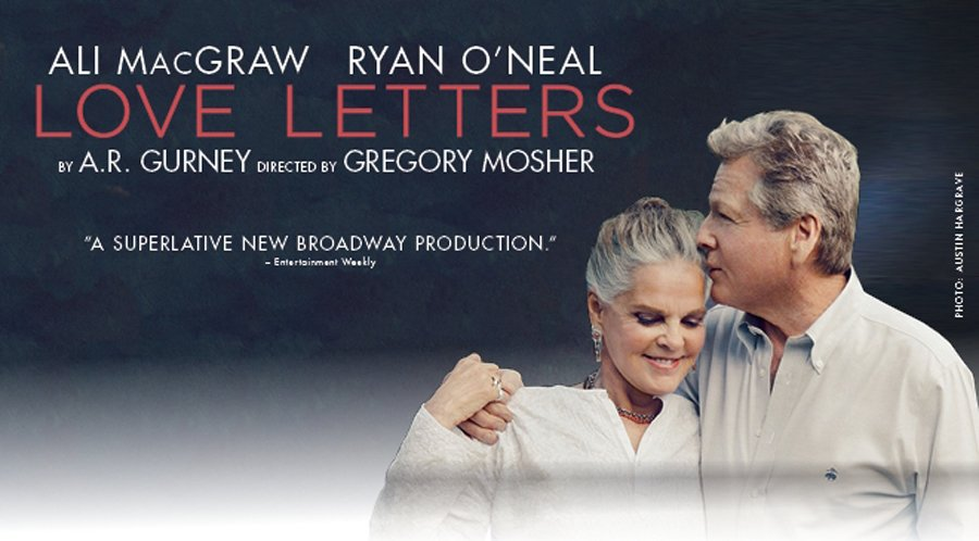 Love Letters UK Tour starring Ali McGraw and Ryan O'Neal