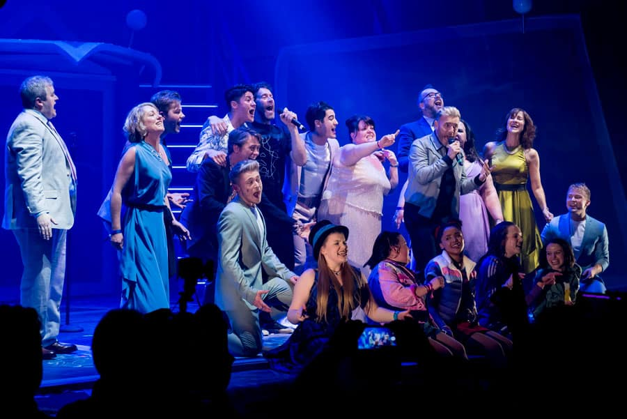 The Band musical UK Tour