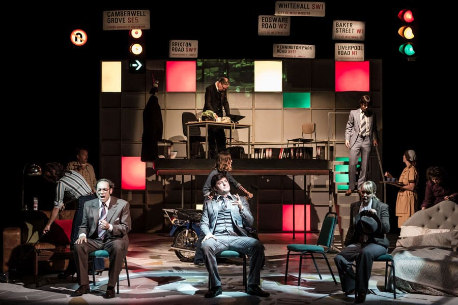 Book tickets for The Knowledge at Charing Cross Theatre