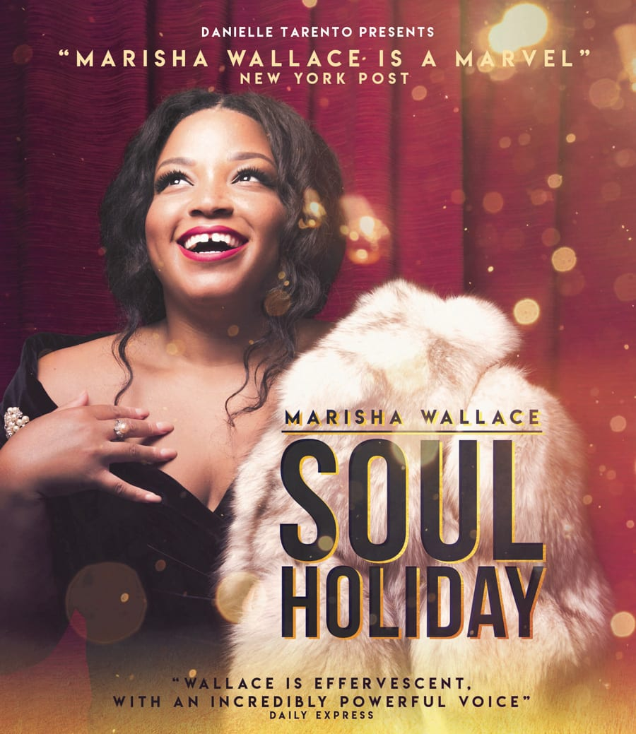 Marisha Wallace performs two concerts at Charing Cross Theatre