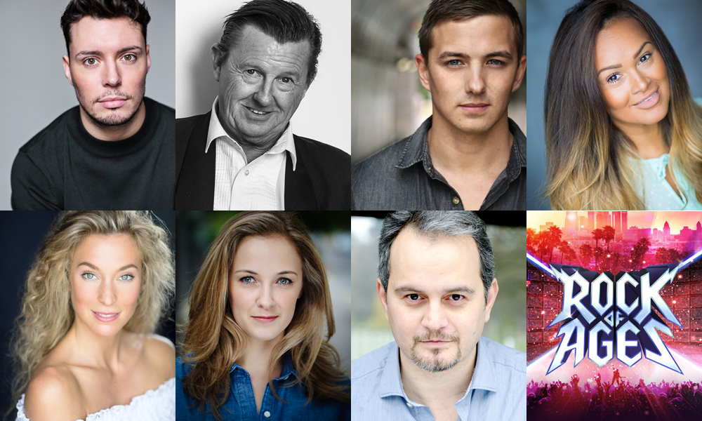 Rock Of Ages Uk Tour Cast