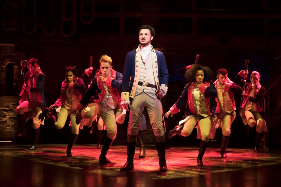 Hamilton London production photos