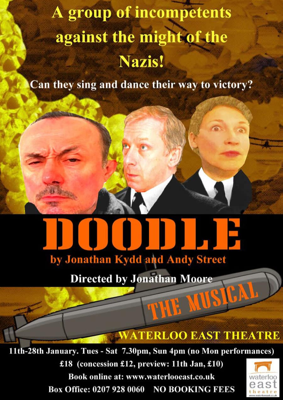 Doodle The Musical at Waterloo East Theatrde