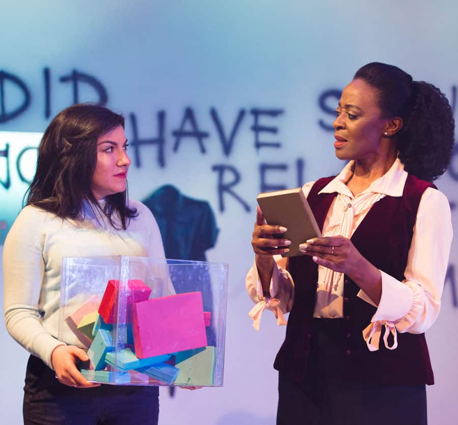Devil With The Blue Dress Review Bunker Theatre