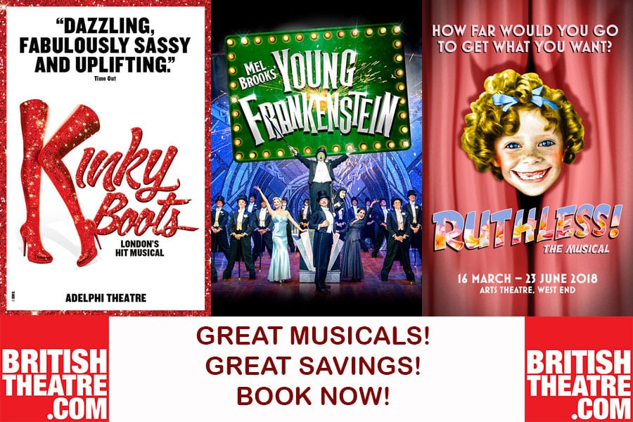 Great savings on West End Musicals