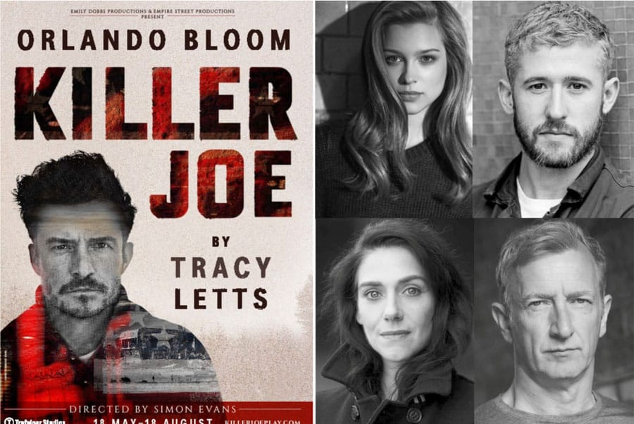 The cast of Killer Joe West End at Trafalgar Studios