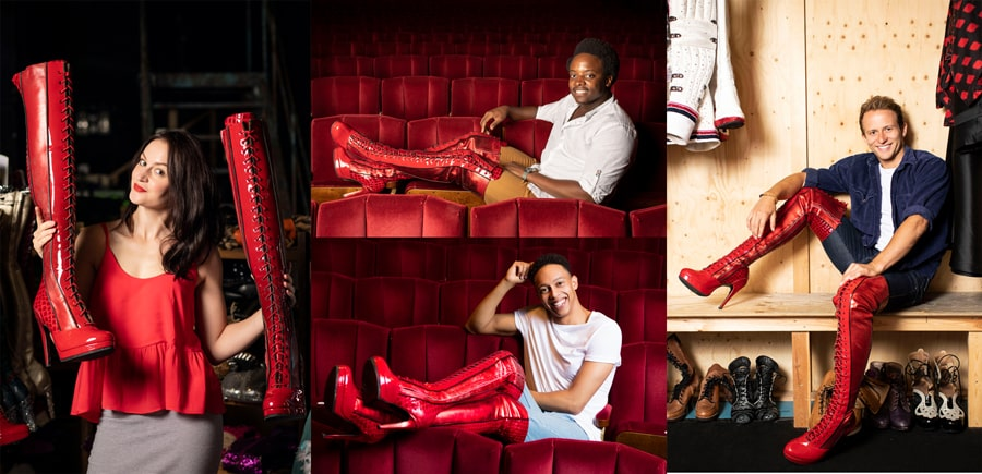 Kinky Boots UK Tour cast