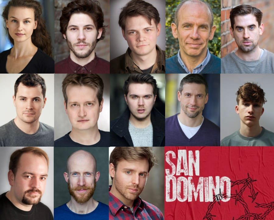 Cast announced for musical drama San Domino at Tristan Bates Theatre