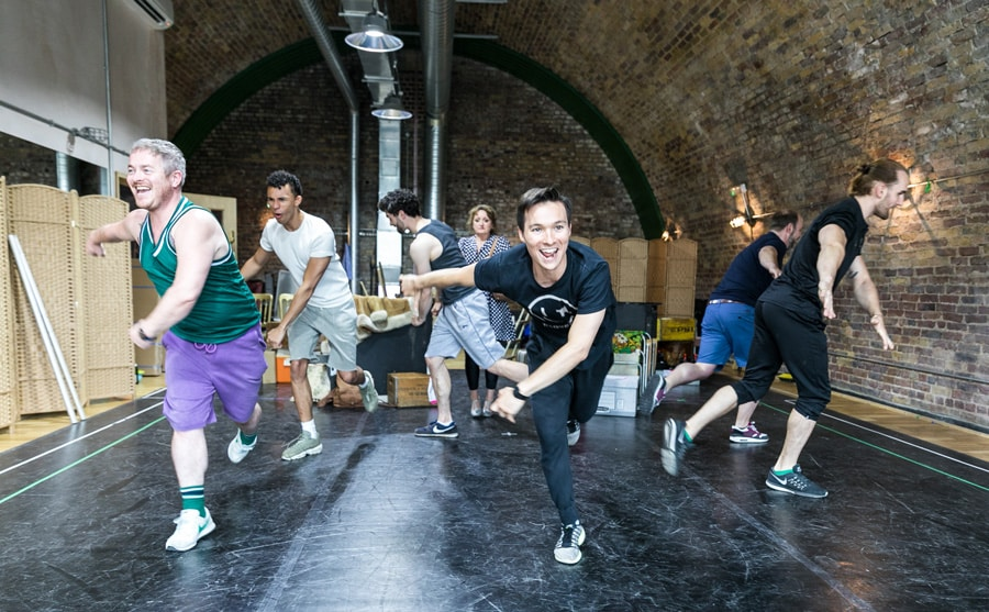 FIRST LOOK: Rehearsals for Kander and Ebb's The Rink at Southwark Playhouse