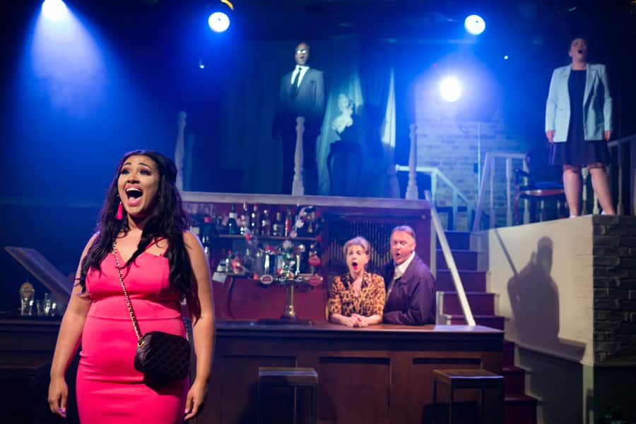 H R Haitch musical review Union Theatre
