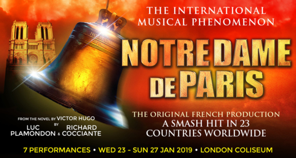 Notre Dame De Paris at the London Coliseum