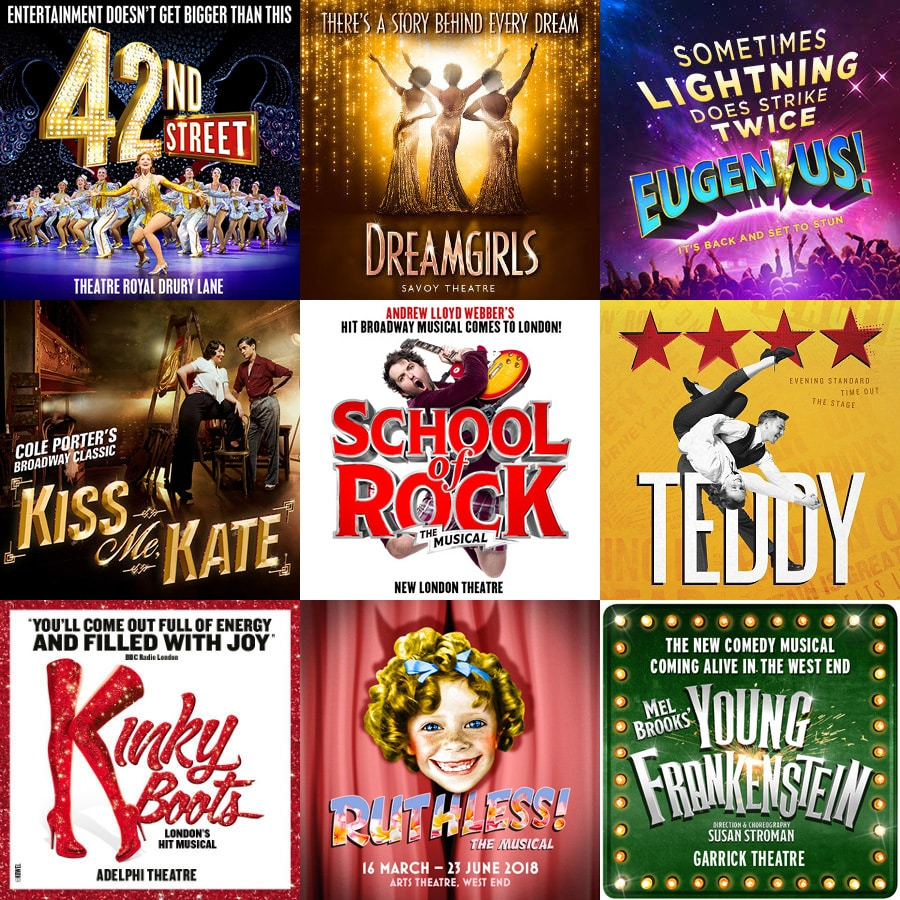 West End Musical Offers May 2018