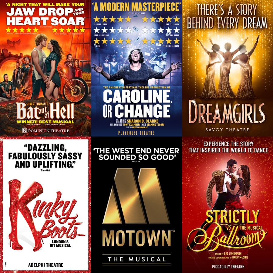 West end musical discounts June 2018