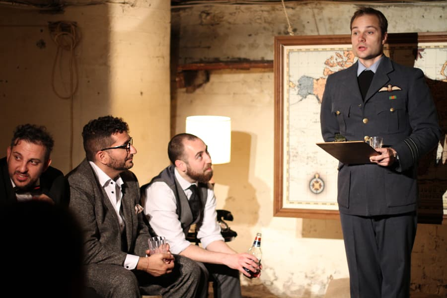 Parabolic Theatre present For King and Country at The Colab Factory