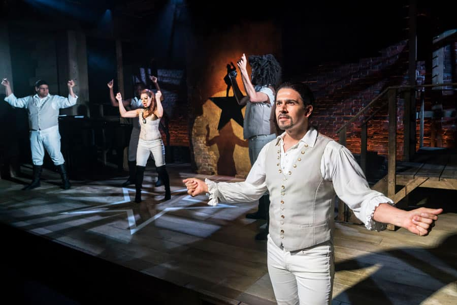 Spamilton review Menier Chocolate Factory
