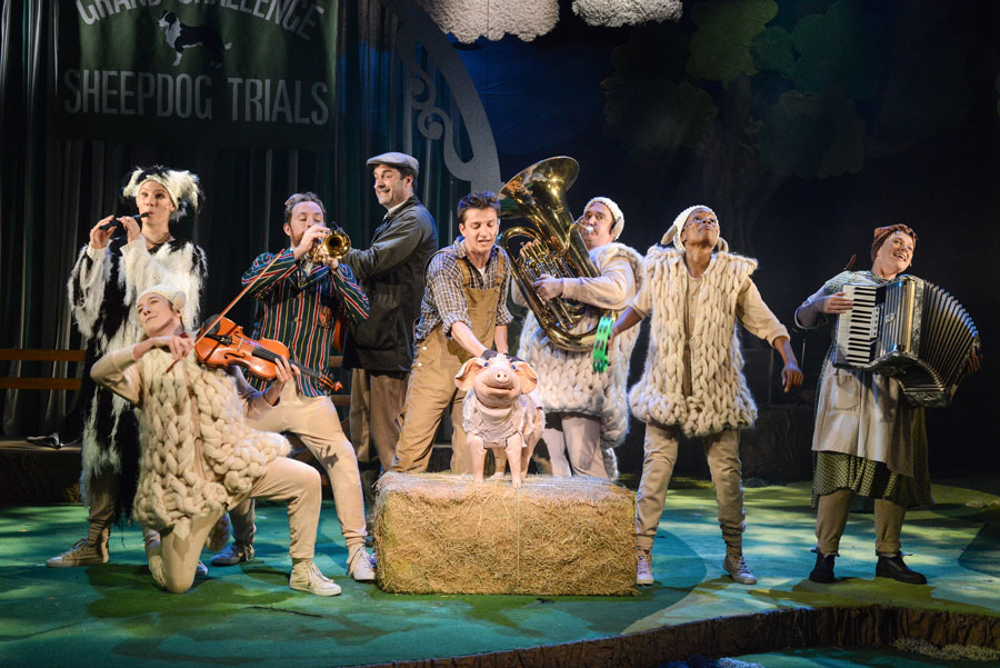Babe The Sheep Pig Review Mercury Theatre Colchester