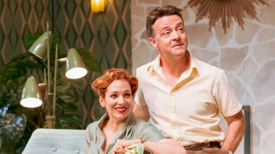 Home, I'm Darling Review National Theatre
