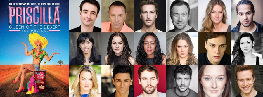 Priscilla UK Tour Cast