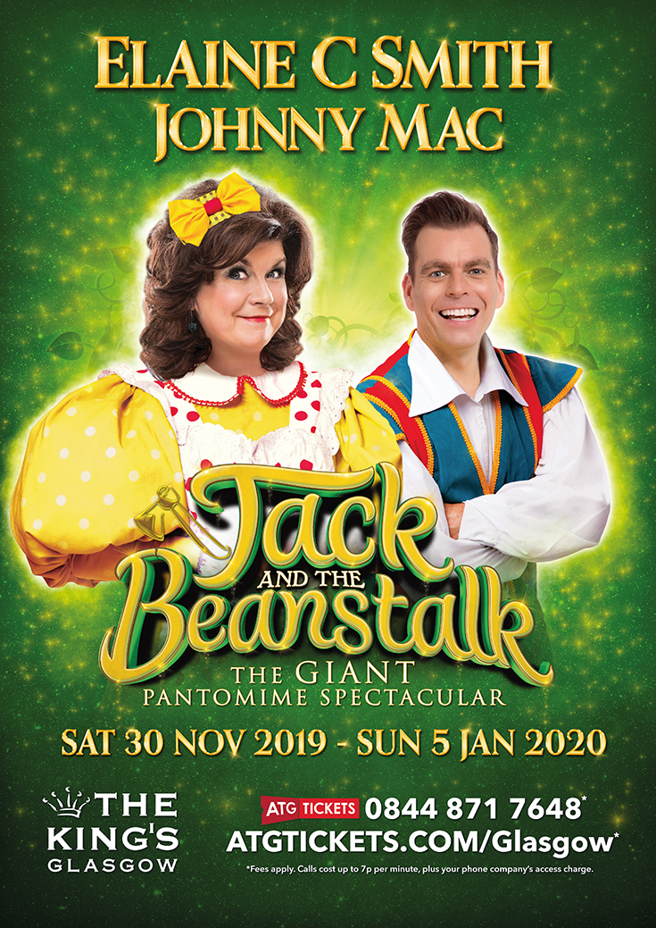 Jack & The Beanstalk 2019 Pantomime Tickets Glasgow