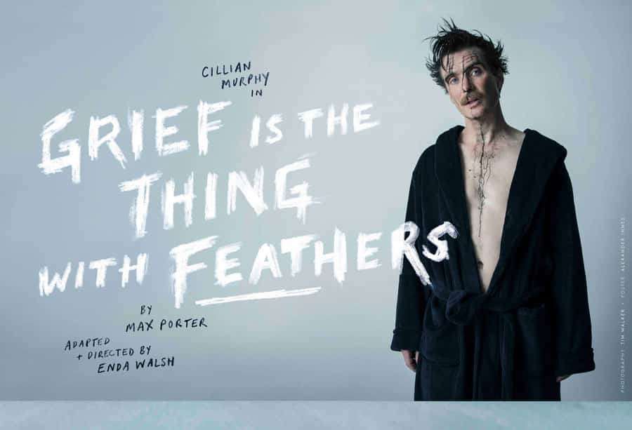 Grief Is The Thing With Feathers Cillian Murphy Barbican