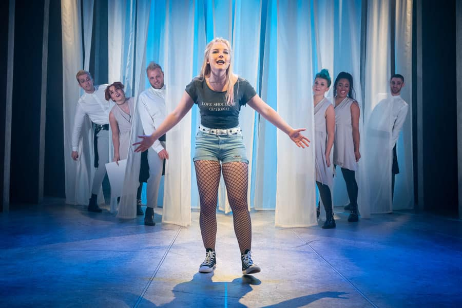 Mythic review Charing Cross Theatre