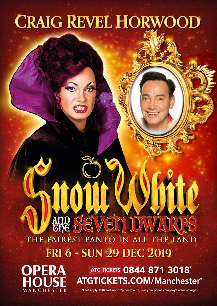 Snow White 2019 Panto in Manchester