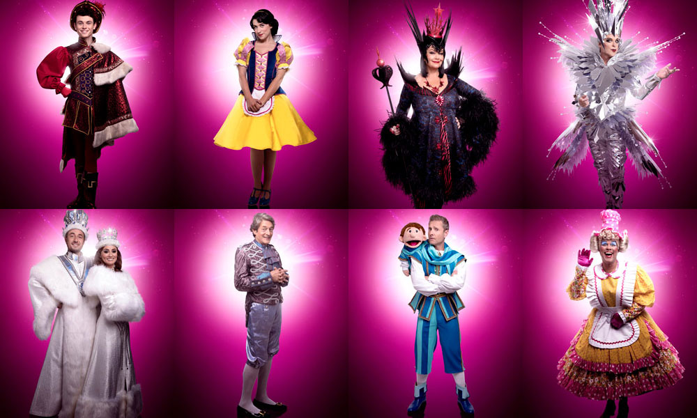 Snow White London Palladium casting