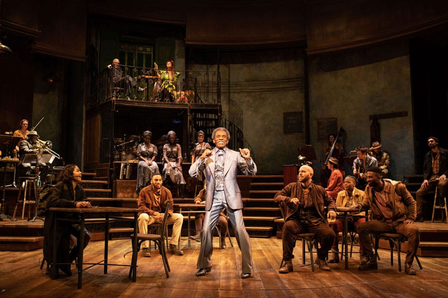 Hadestown review National Theatre