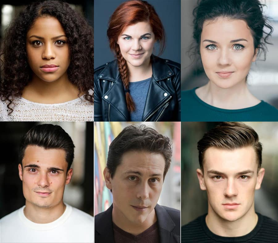 Club Mex Cast Hope Mill Theatre