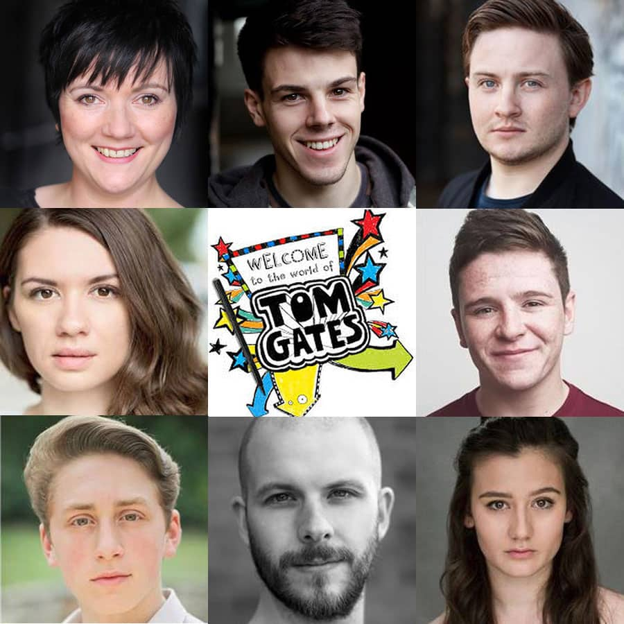 Tom Gates UK Tour Cast