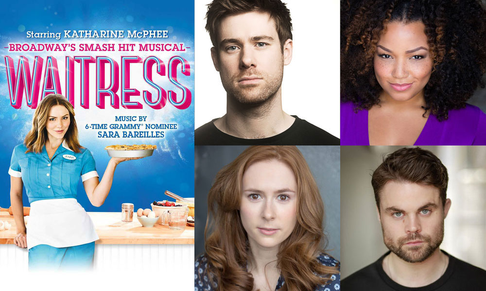 Waitress London cast