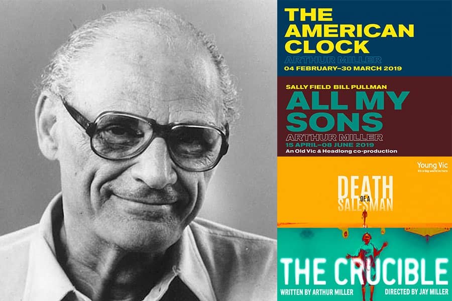 Four Arthur Miller plays to hit London stages in 2019