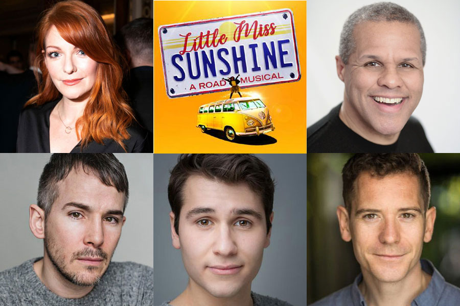Little Miss Sunshine musical cast Arcola Theatre