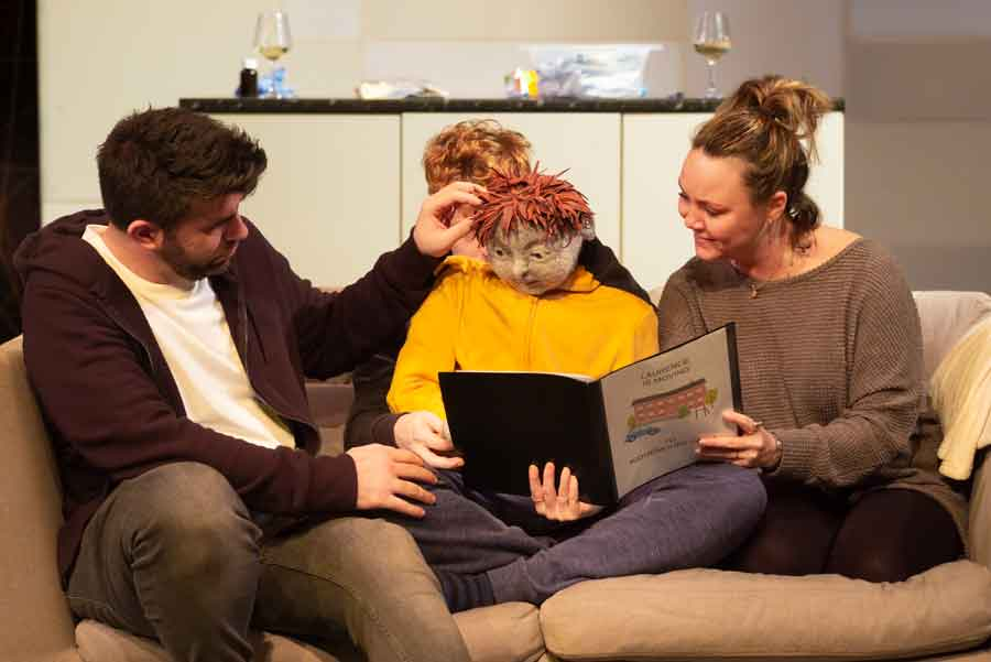 All In A Row review Southwark Playhouse